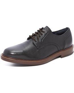 Adams Grand Plain Tumbled Leather Oxfords