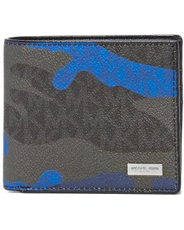 Jet Set Pop Camo Signature Billfold