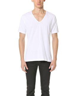 Superfine Cotton V Neck Undershirt