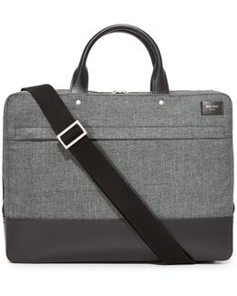Tech Oxford Slim Briefcase