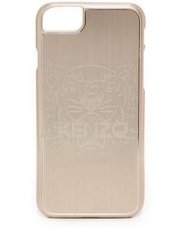 Metallic Tiger Head Iphone 7 Case