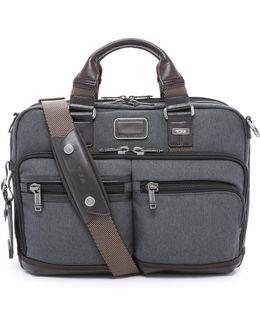 Alpha Bravo Andersen Slim Commuter Briefcase