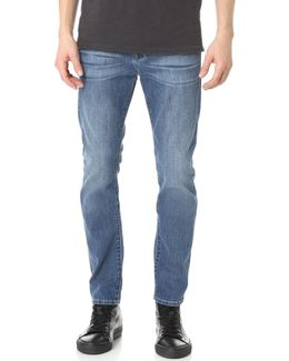 Paxtyn Tapered Foolproof Denim Jeans