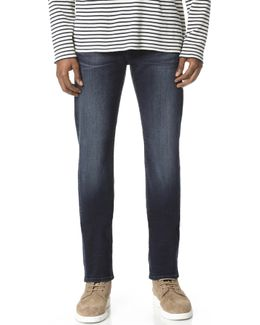 Slim Straight Performance Jeans