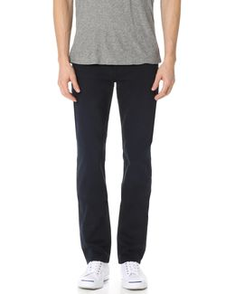 Slimmy Slim Straight Luxe Performance Colored Jeans