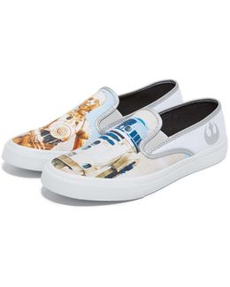 X Star Wars Droids Cloud Slip On Sneakers