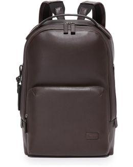 Harrison Leather Webster Backpack