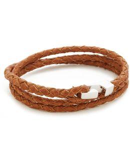 Sterling Silver Ipsum Wrap Bracelet