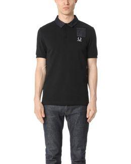 Denim Pocket Pique Shirt