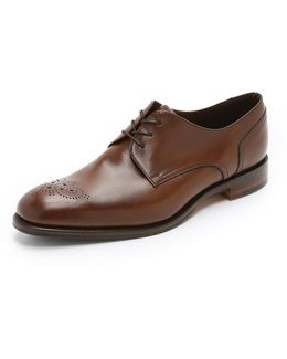 Naylor Punched Toe Derby Shoes