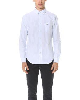 Bengal Stripe Button Down Oxford Shirt