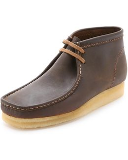 Wallabee Leather Chukka Boots