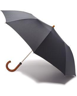 Telescopic Umbrella With Maple Handle