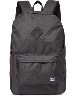 Heritage Perforated Detail Backpack