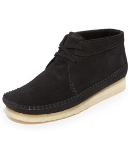 Weaver Suede Boots