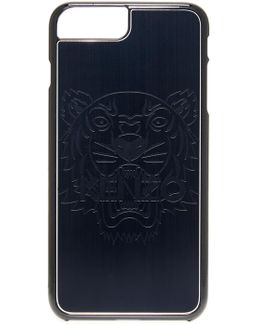 Metallic Tiger Head Iphone 7+ Case