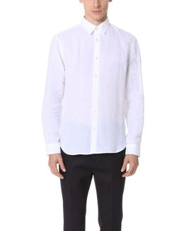 Rectangle Luxe Linen Shirt