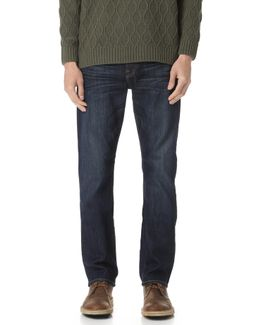 Straight Fit Air Weft Jeans