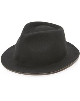 Melange Duo Tone Trilby