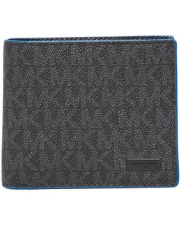 Jet Set Pop Shadow Signature Billfold