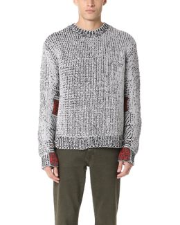 Fair Isle Jacquard Crew Sweater