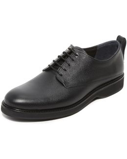 Caviar Grain Montoro Derby Shoes