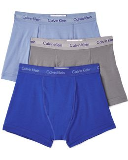 Cotton Stretch 3 Pack Trunks