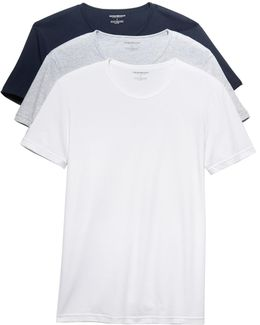 3 Pack Genuine Cotton Crew Neck Tees