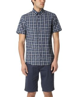 Short Sleeve Mod Check Shirt