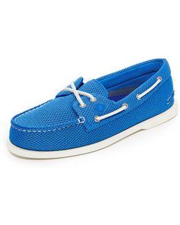 A/o 2 Eye Mesh Boat Shoes