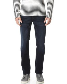 Luxe Performance Carsen Easy Straight Leg Jeans