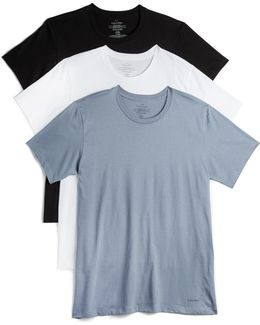 Cotton Classic 3 Pack Crew Neck Tees