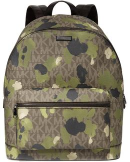 Jet Set Painterly Camo Backpack