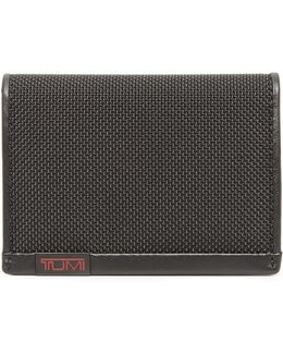 Alpha Gusseted Card Case With Id Window