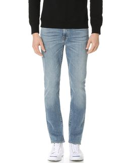 Slimmy Slim Straight Luxe Performance Jeans