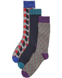 Archway 3 Pack Socks