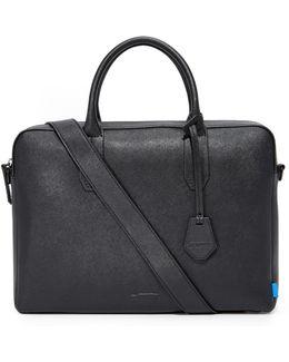 Fulton Saffiano Leather Briefcase