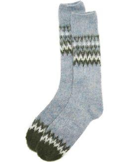 Napping Nordic Crew Socks