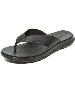 Zerogrand Thong Sandals