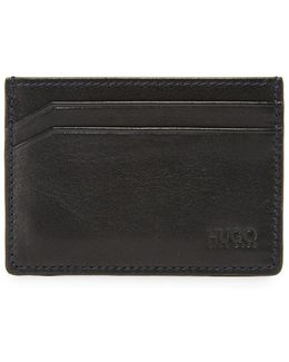 Subway Leather Card Case