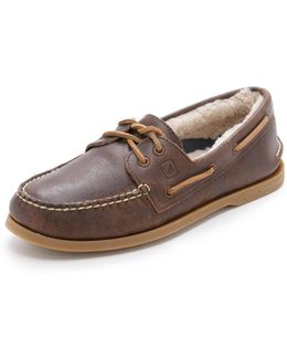 A/o 2-eye Winter Boat Shoes