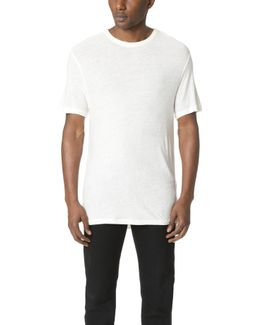 Slub Crew Neck T-shirt