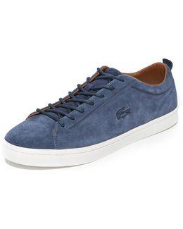 Straightset Suede Sneakers