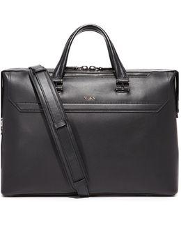 Ashton Leather Gates Slim Briefcase