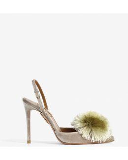 Powder Puff Sandals