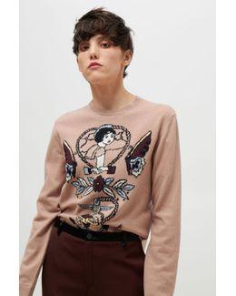 Tattoo Intarsia Sweater