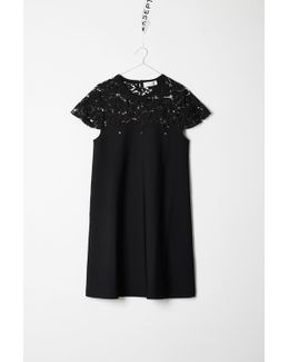 Dress With Lace Detailings