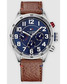 Trent Leather Watch