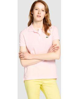 Basic Pink Polo Shirt