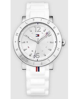 Aubrey Steel Watch